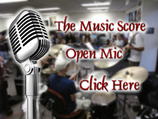 The Music Score Open Mic Night